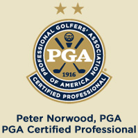 Peter Norwood, PGA  Certified Professional