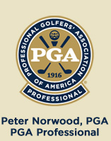Peter Norwood, PGA Professional