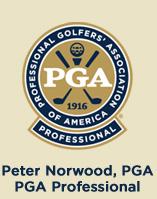 Peter Norwood, PGA Professional